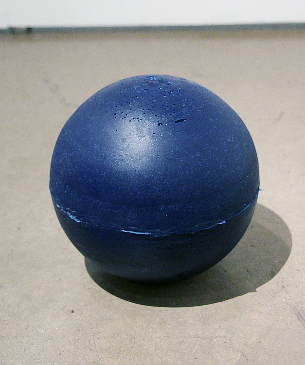 Damon Zucconi, Gamblin Prussian Blue, 2012